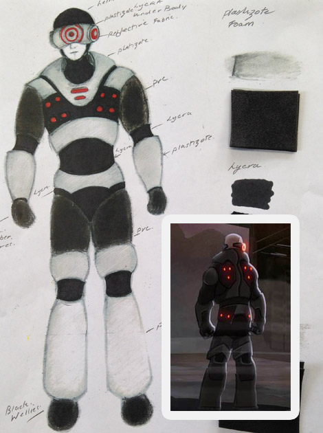 S4C Madron costume design