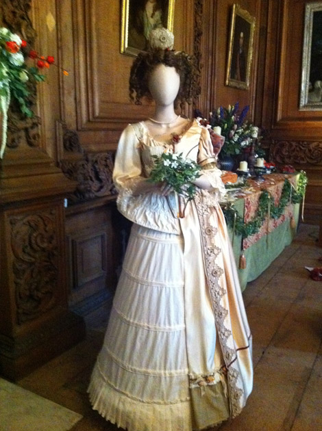 Lady Tredegar costume