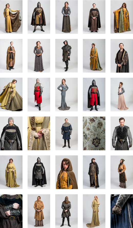 The Bastard Executioner Costumes